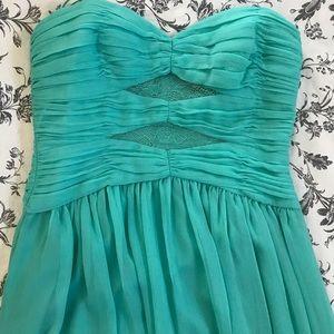 Bcbg aquamarine dress